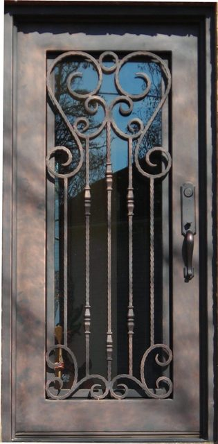 Iron Entry Doors Atlanta Iron Doors Custom Iron Doors