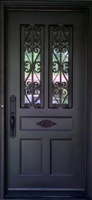 Iron entry doors atlanta iron doors custom iron doors for Door design of iron