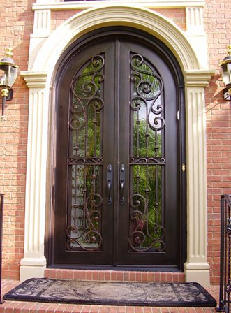 Awesome Exterior Iron Doors Pictures Decoration Design Ideas